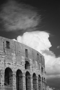 David Piemonte Clouds Over Colosseum