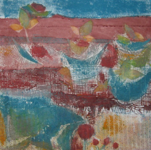 Harty #4A, Early Spring, Collagraph Print, use for website copy