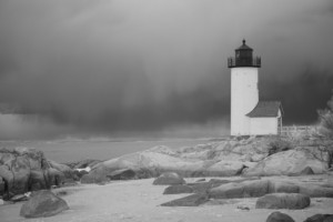 David Piemonte Lighthouse with mist 2018