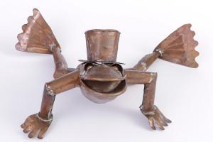 stuyf-frog in top hat