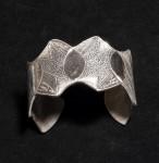 Marcie Rae , Evening Cuff Silver Bracelet