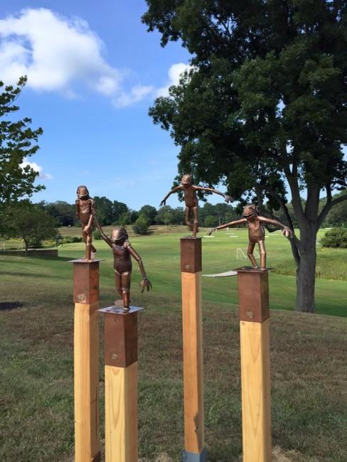 Bart Stuyf sculpture group