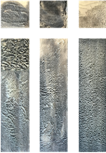 gonet_snow_6panels_graphiteindiainktransferoilencaustic